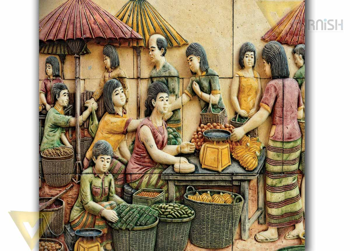 3d Mural wallpaper