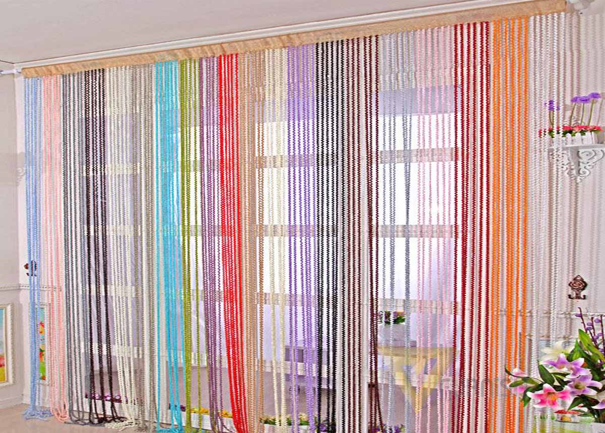 thread curtains